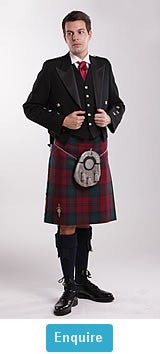 8 Yard Kilt (16oz select tartan)