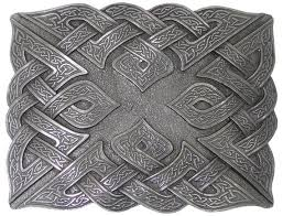 Celtic Weave Kilt Buckle - Celtic Corner / Scottish Treasures