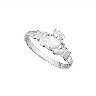 Claddagh Sterling Silver Ring (small)