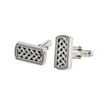 Celtic Ingot Silver Cufflinks - Celtic Corner / Scottish Treasures