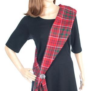 Tartan Sash - Celtic Corner / Scottish Treasures