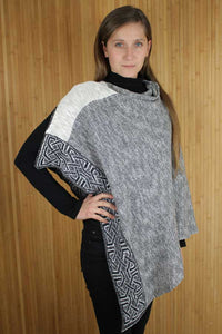 Silver Ballater poncho.  Scottish Treasures Celtic Corner