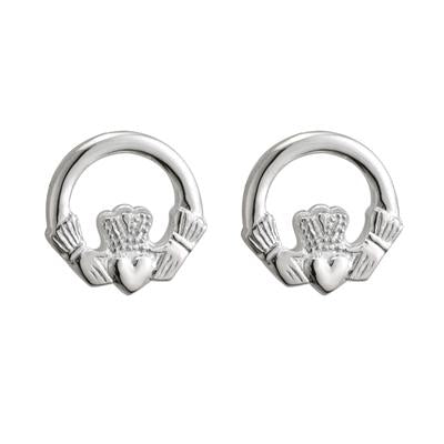 Claddagh Small Stud Earring - Celtic Corner / Scottish Treasures
