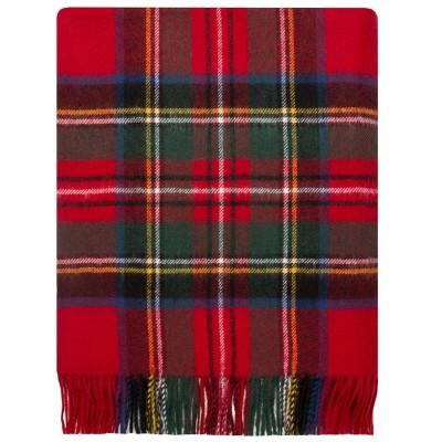 Royal Stewart Tartan Lambswool Throws - Celtic Corner / Scottish Treasures