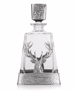 Stag Decanter - Celtic Corner / Scottish Treasures