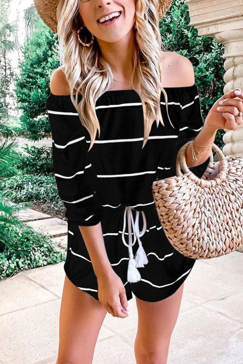 Ceridress Oxygen Beauty Striped Jumpsuit