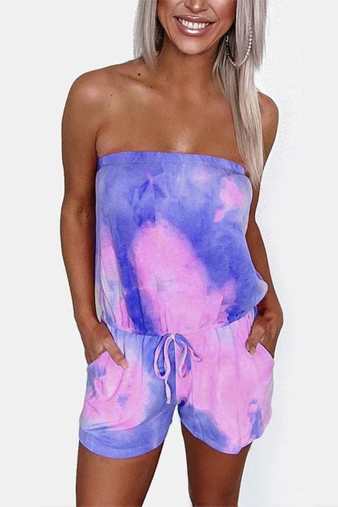 Ceridress Tie Dye Charming Romper