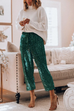 Ceridress Sequin Christmas Bloom Party Pants