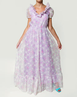 flower romantic dress