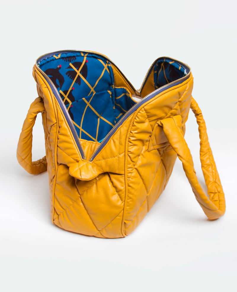 Mustard Cleo Tote