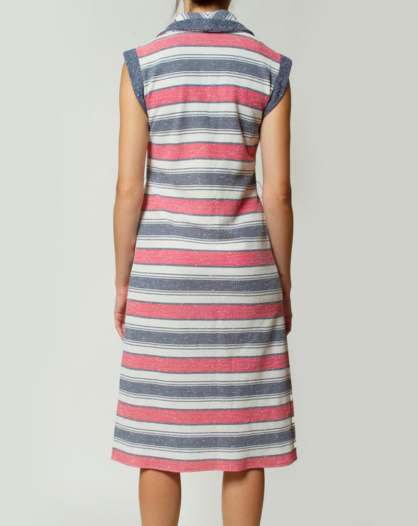 Striped Straight Dress