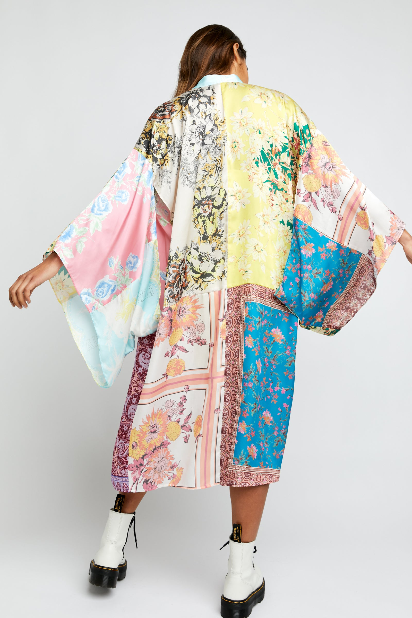 Free People Patched with Love Kimono