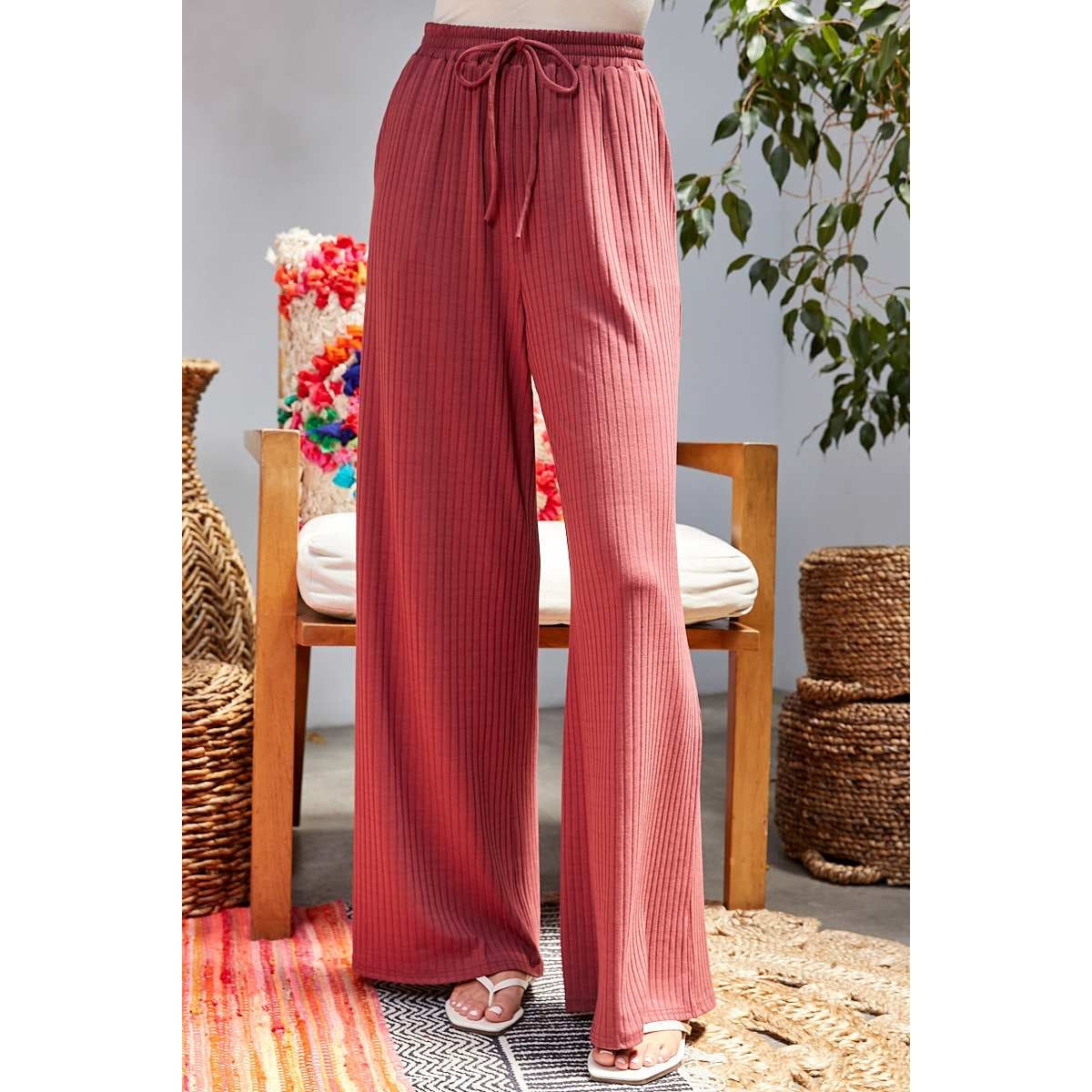 Mara Ribbed Pants