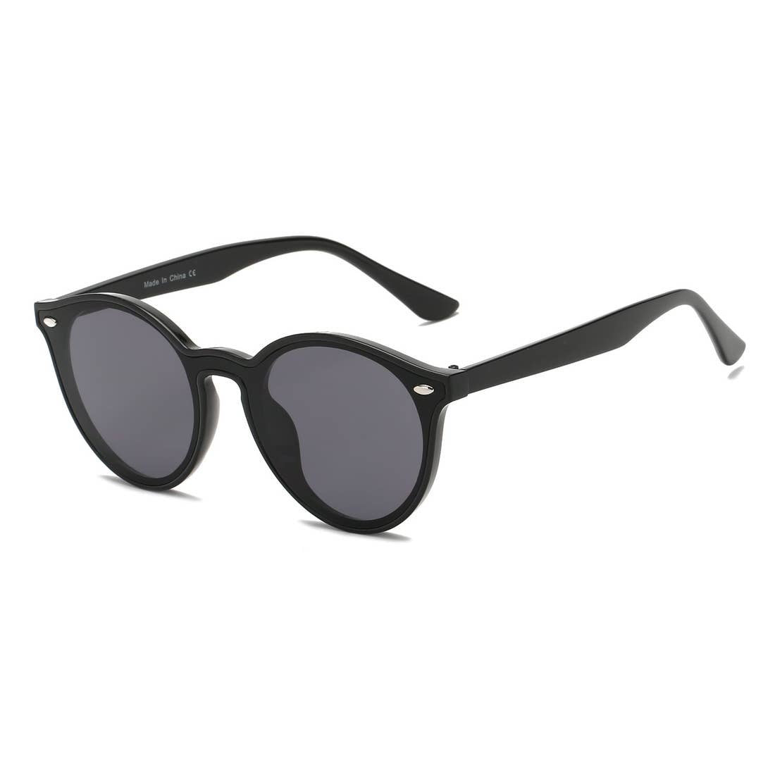 Unisex Fashion Retro Round Sunglasses