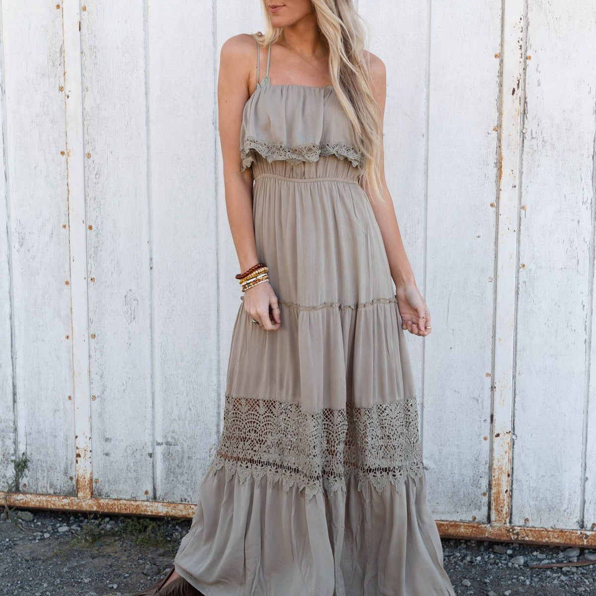 Wander This Way Maxi Dress