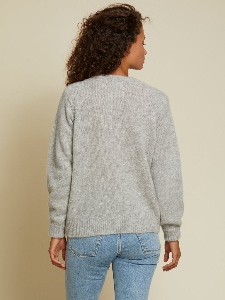 Megan Sweater with Shoulder Pads