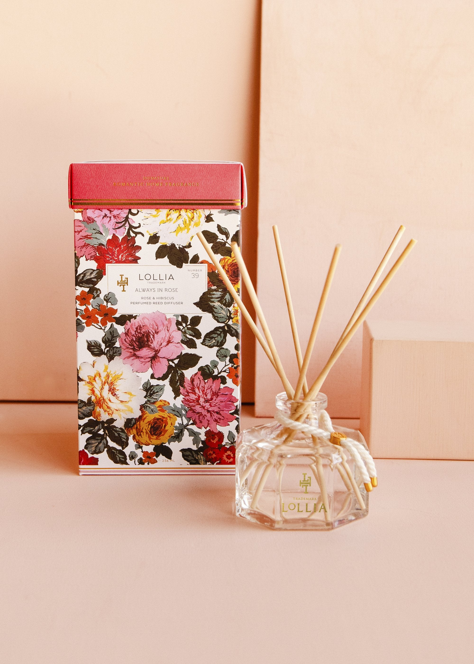 Always in Rose Perfumed Reed Diffuser
