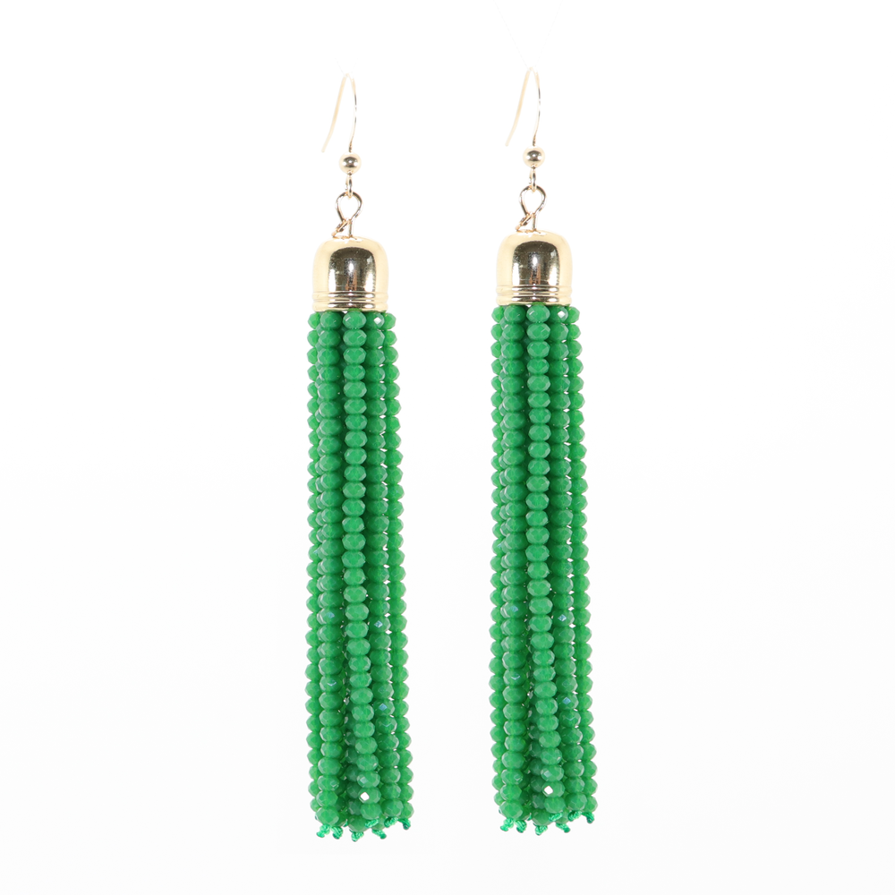 Selena Beaded Drop Earrings
