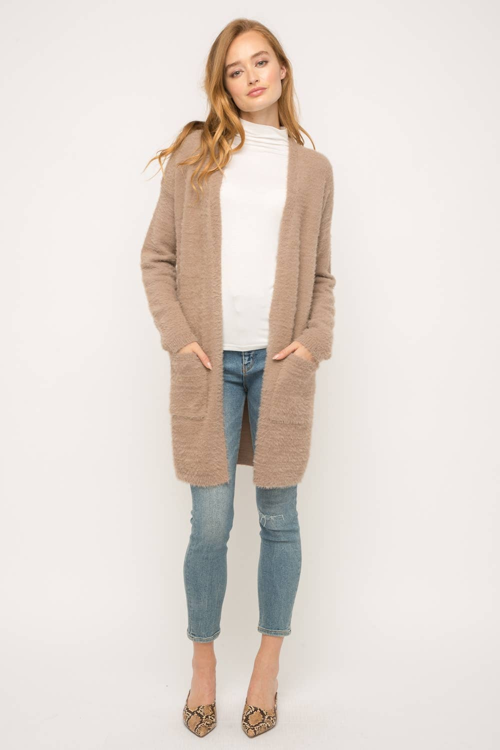 Soft + Cozy Open Cardigan
