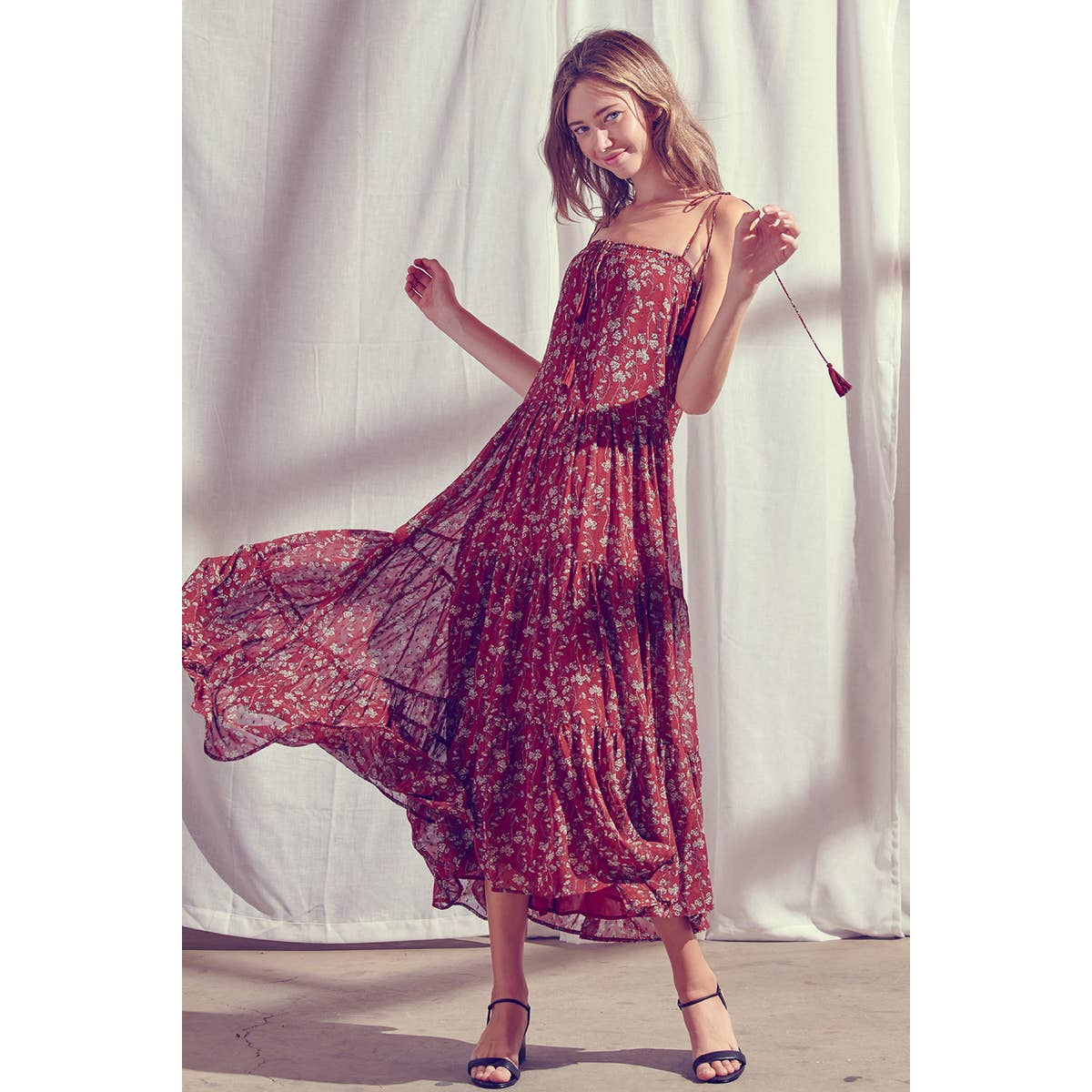 Brickell Floral Maxi Dress