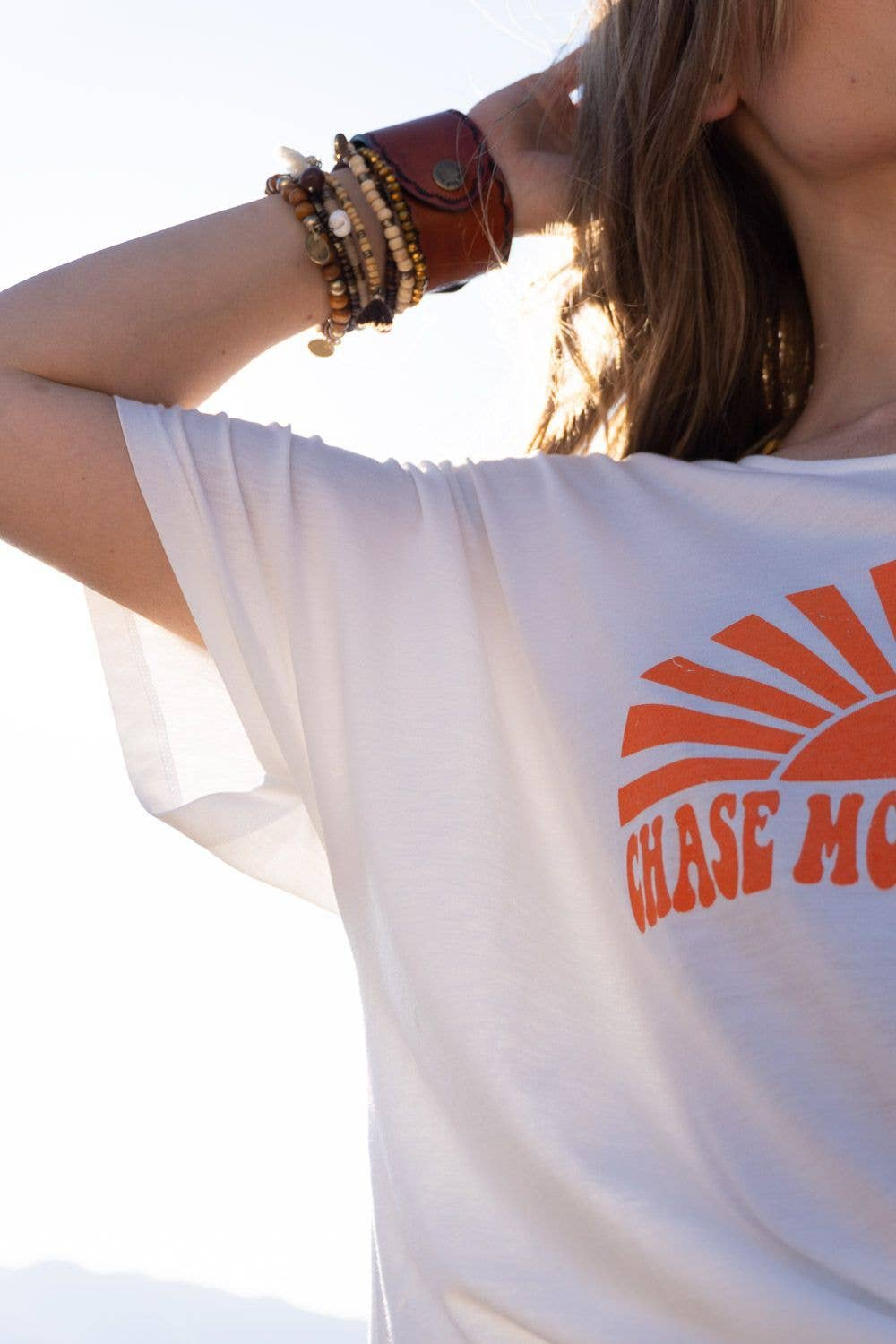 Chase More Sunsets Tee