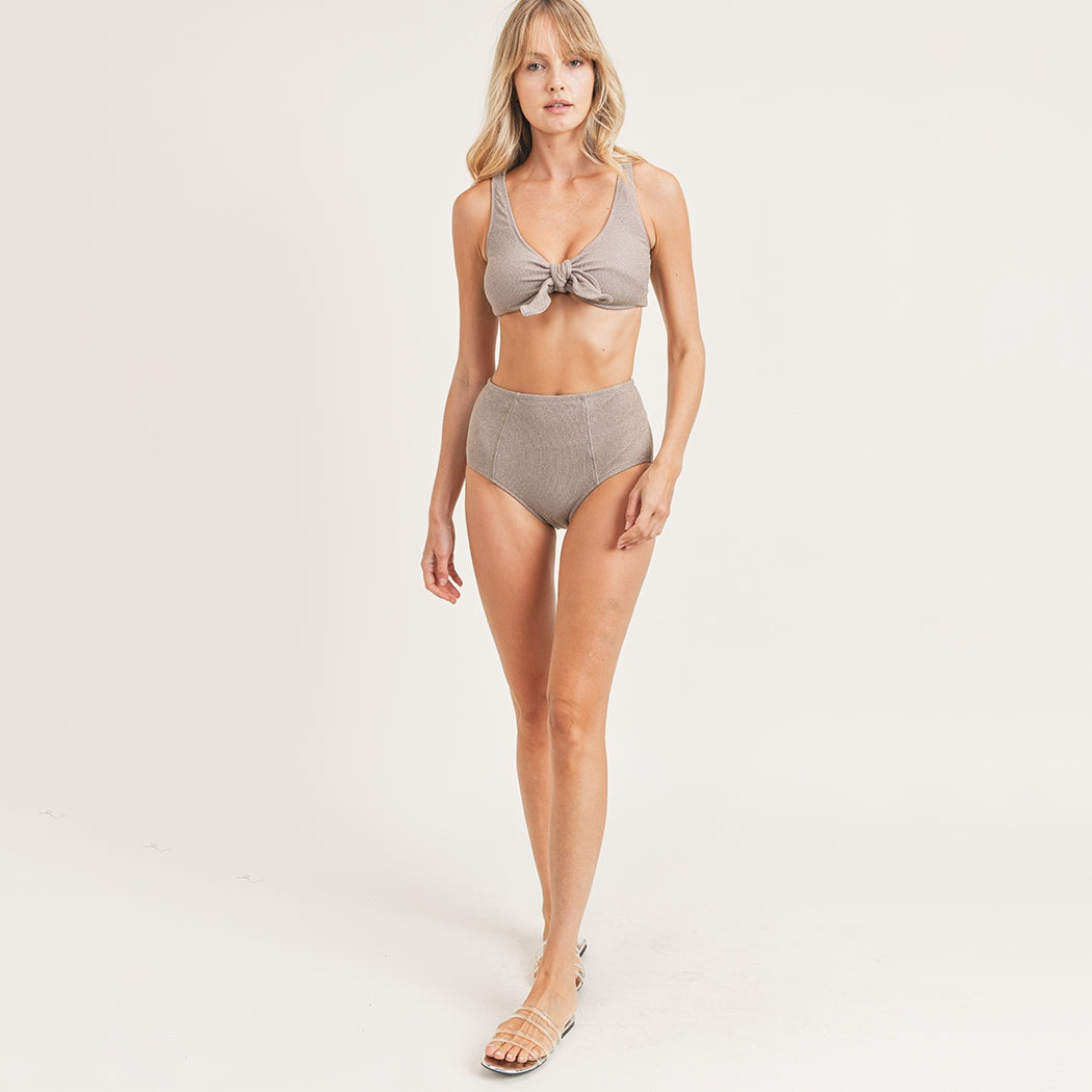 The Roper Retro Ribbed Bikini