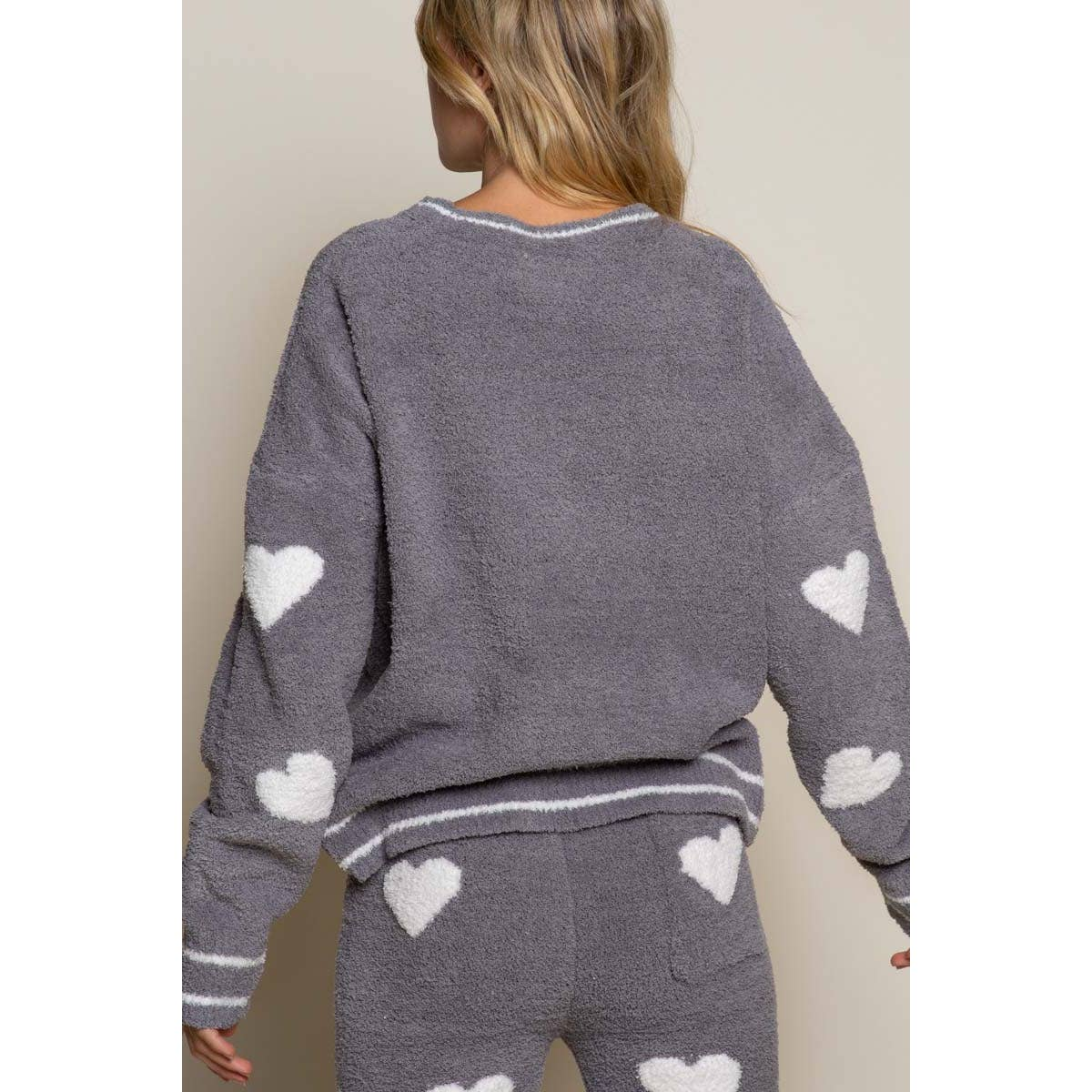Love Heart Pajama Top