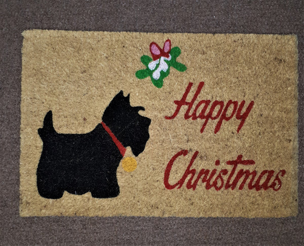 XMAS DESIGN SCOTTY DOG