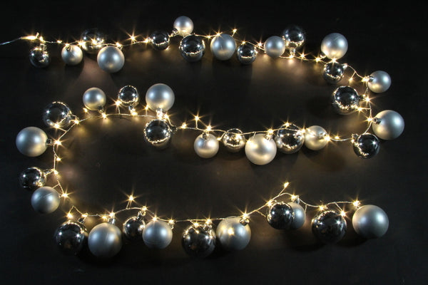 40PC BALL GARLAND