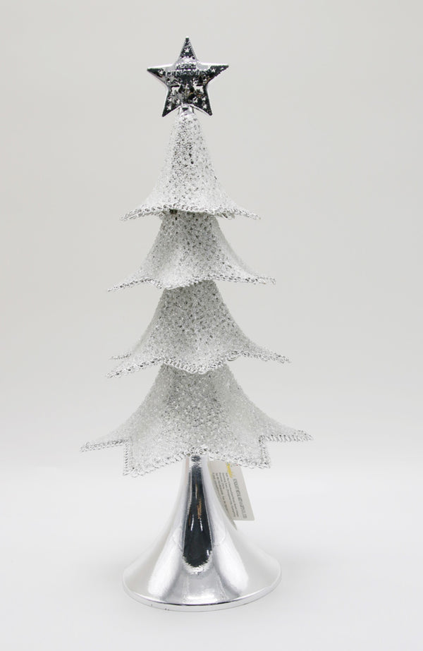 S/S SILVER LED TREE
