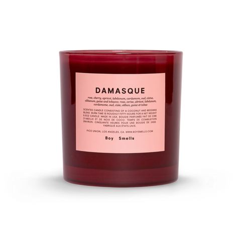 Boy Smells Damasque Candle