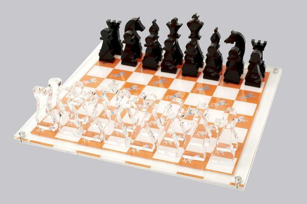 Casa Carta Chess Board Horse