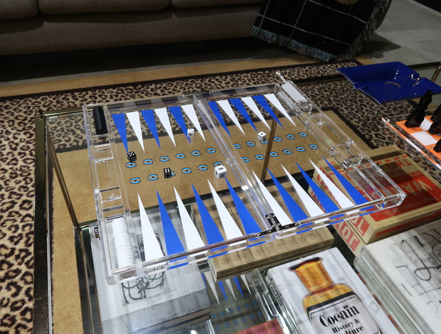 Casa Carta Evil Eye Backgammon