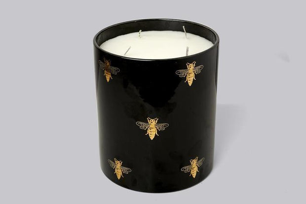 Casa Carta Black Bee Candle Large