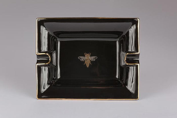 Casa Carta Black Bee Ashtray