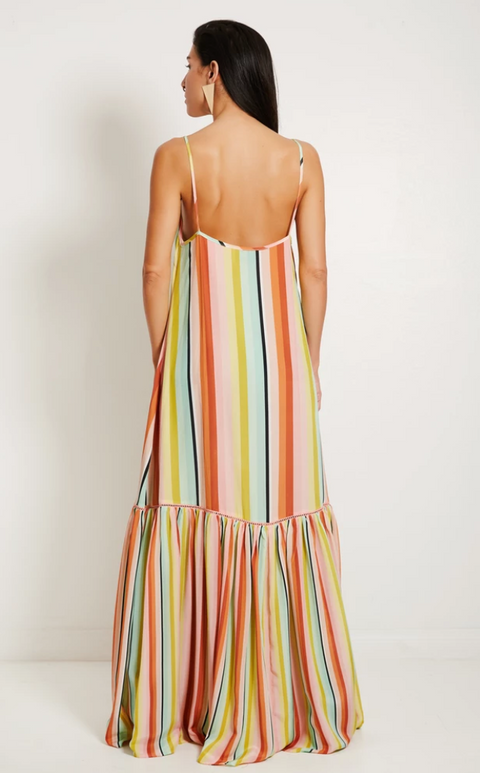 Desert Stripe Maxi Dress