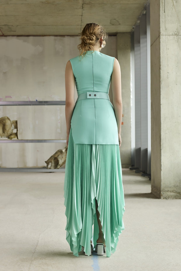 Solace London Anya Midaxi Dress - Mint