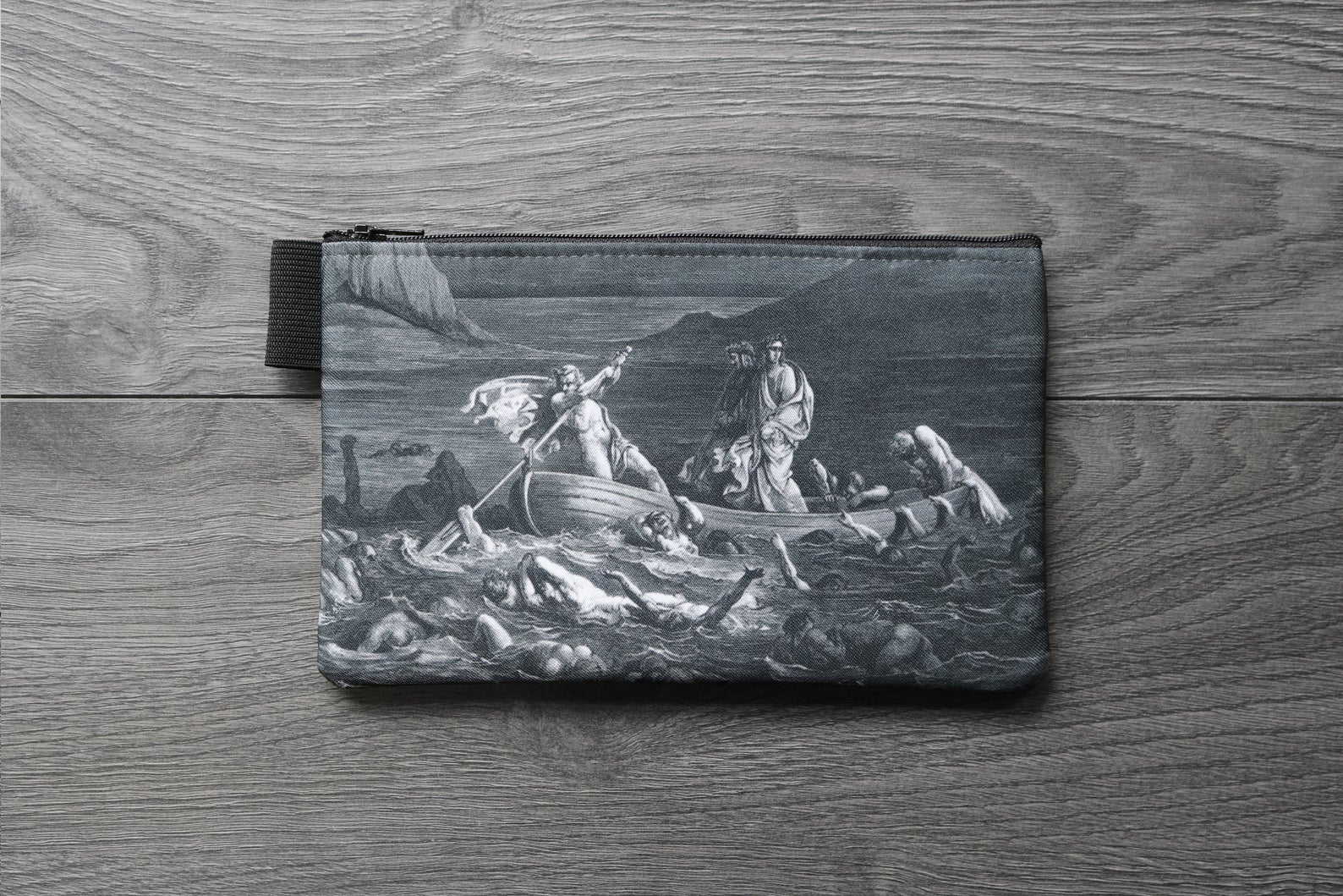 the divine comedy illustration // dante's inferno - lined twill pencil case - double sided print - Gustave Doré, 1892