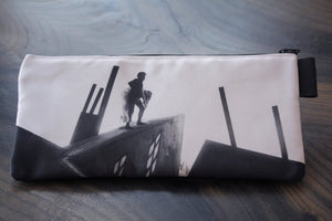 the cabinet of dr caligari - lined twill pencil case- german expressionism