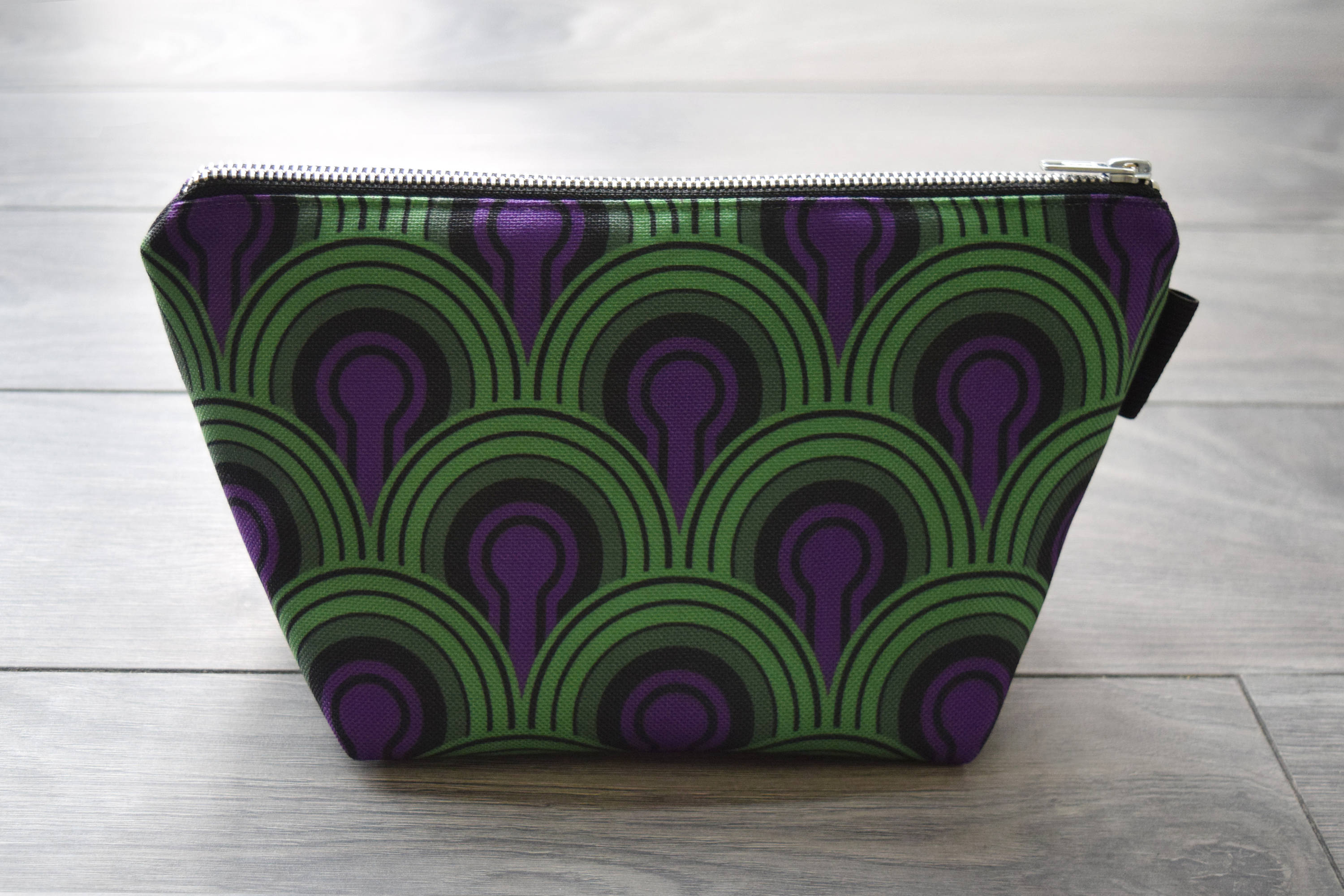 the shining - lined canvas zippered pouch - overlook hotel // room 237