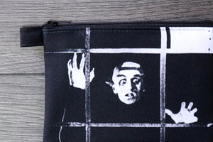 nosferatu - lined twill coin purse - double sided print - max schreck