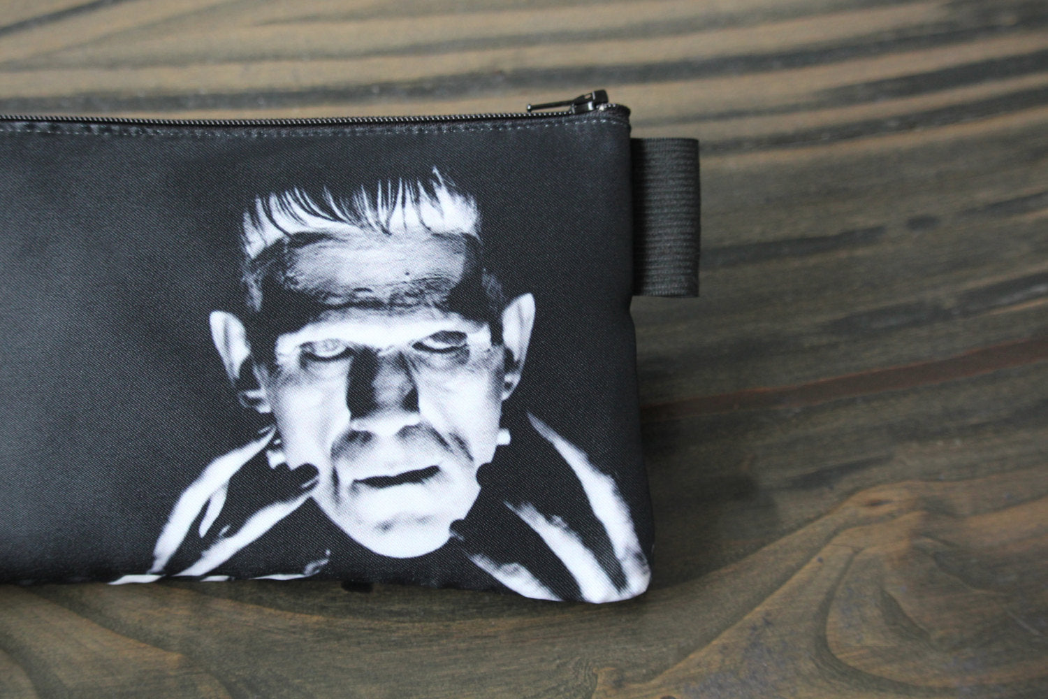 frankenstein's creature - lined twill pencil case - universal monsters