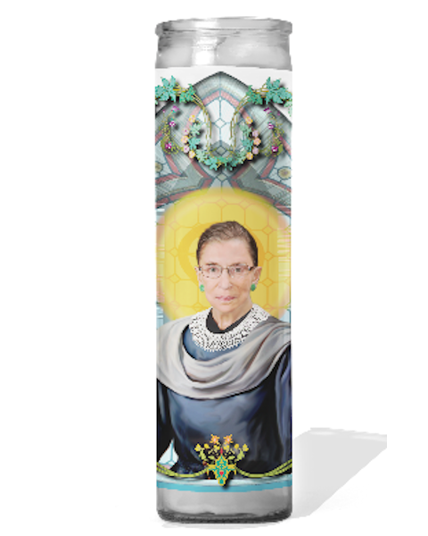 Ruth Bader Ginsburg Celebrity Prayer Candle - RBG
