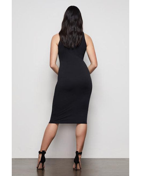 Body Sculpted Midi Dress