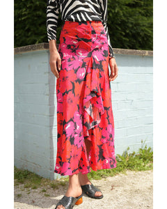 Vi Mystic Bloom Midi Skirt
