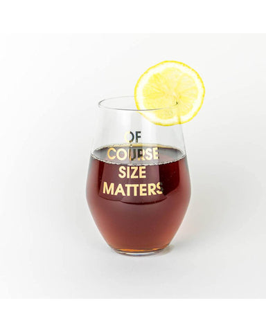 Of Course Size Matters