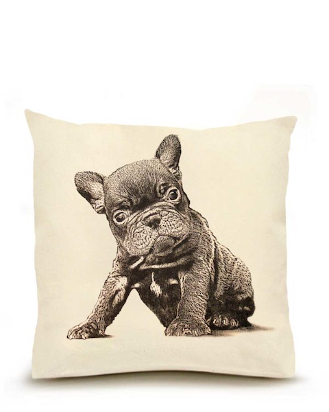French Bulldog Large Pillow