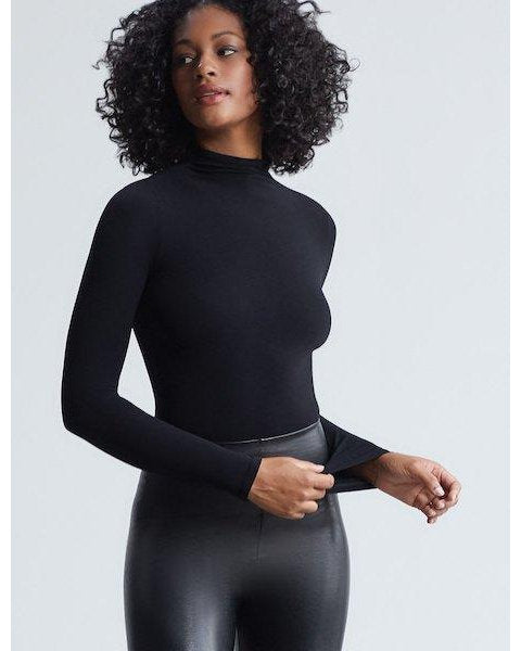 Mockneck Long Sleeve Bodysuit