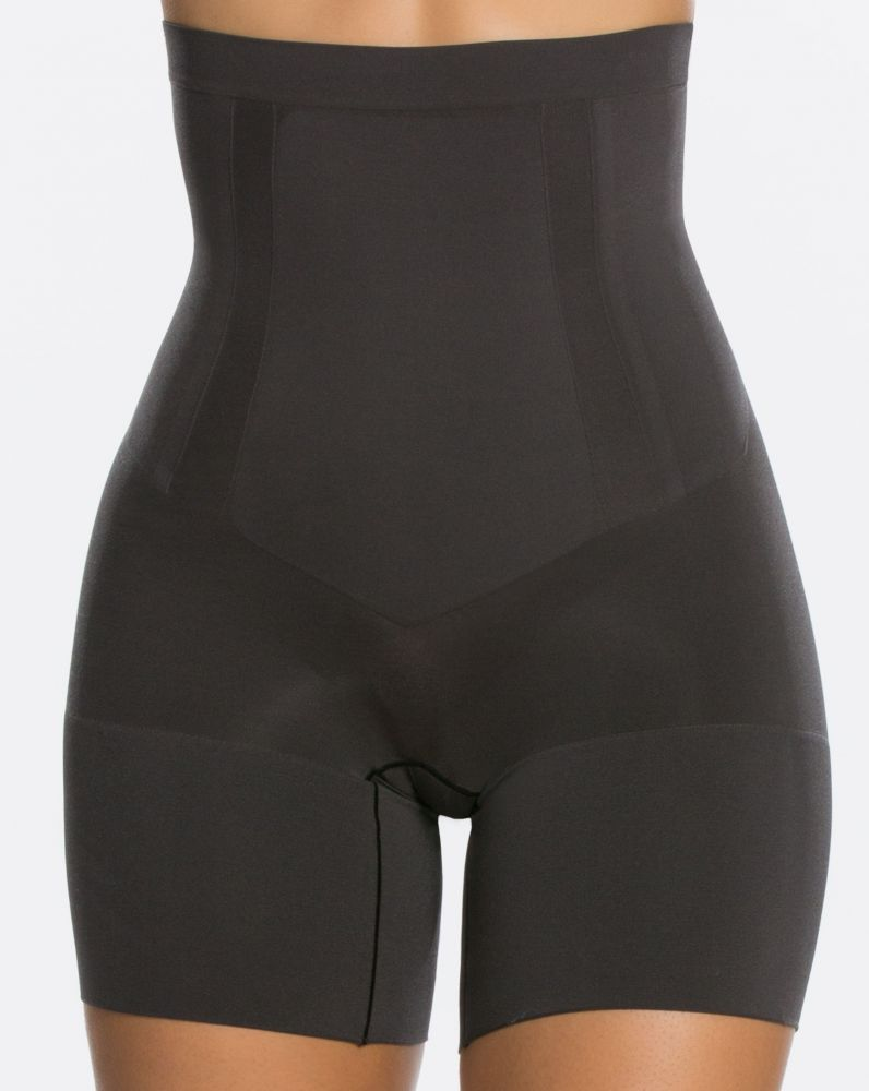 High Waist Mid Thigh Black