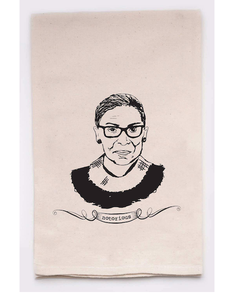 Notorious RBG (Ruth Bader Ginsburg) Kitchen Tea Towels